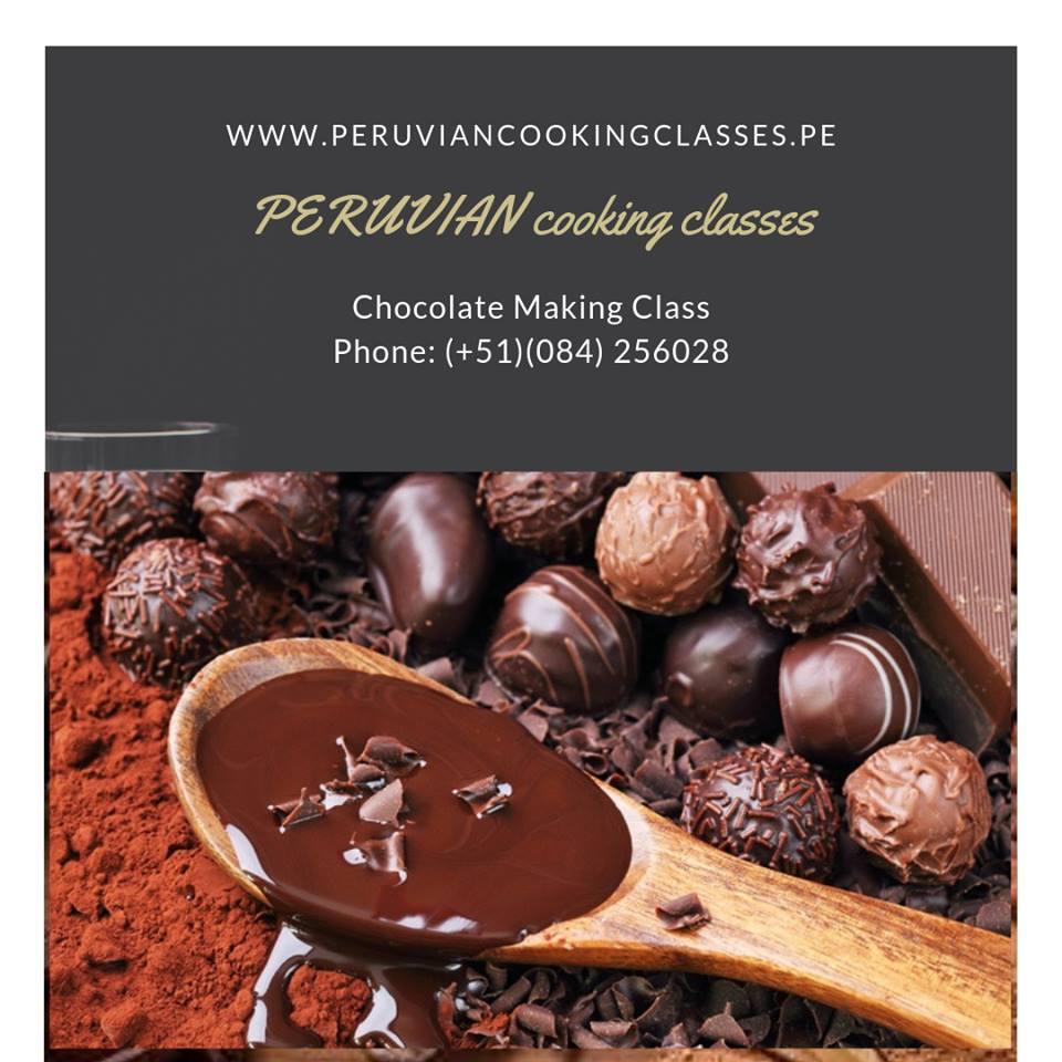 Making chocolate in Cusco, Peru